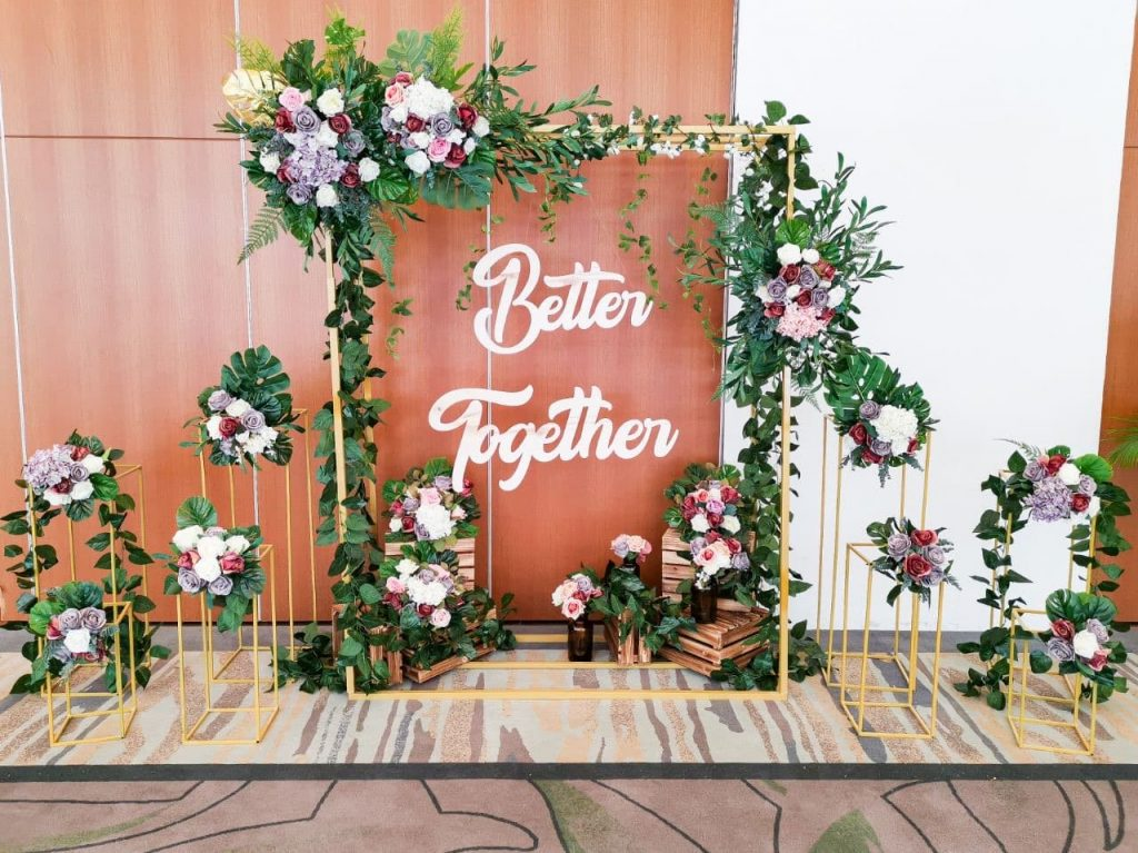 wedding backdrop Singapore