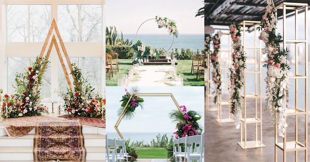 For the Arch-Lovers: Choosing the right wedding Arch